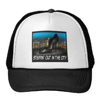Steppin Out in the City Cap Hats