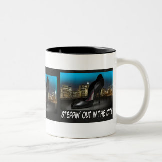 Steppin Out in the City Mug