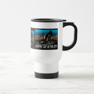 Steppin Out in the City Travel Mug