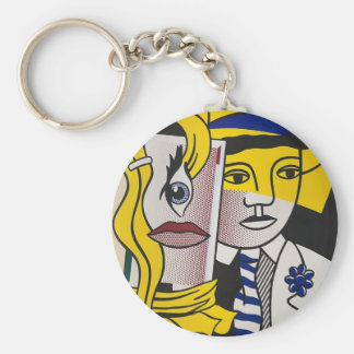 Stepping Out Key Ring