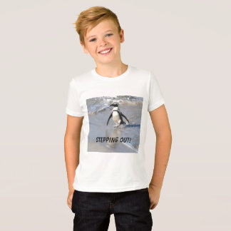 Stepping Out!  Penquin T-Shirt