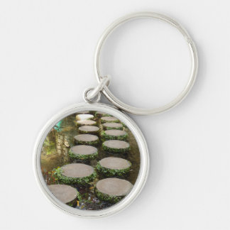 Stepping Stones Key Ring