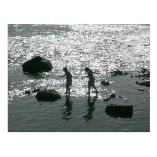 Stepping Stones Postcard
