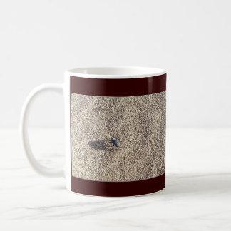 Steps in Sand, Quit bugging me! Basic White Mug