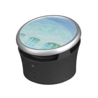 Steps on the ocean - 3D render Bluetooth Speaker