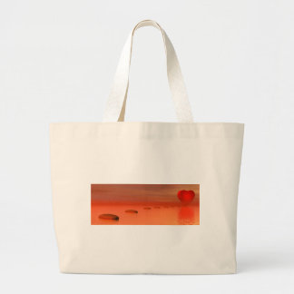 Steps to love large tote bag