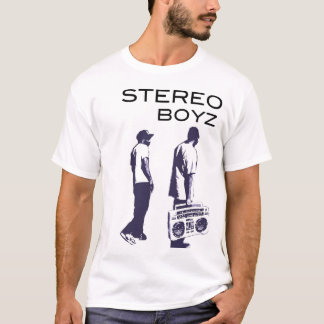 Stereo Boyz Boombox T-Shirt
