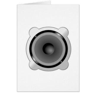 Stereo Speakers Card