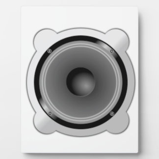 Stereo Speakers Plaque