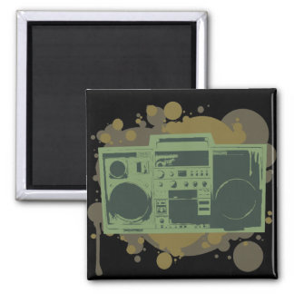 Stereo Style Square Magnet