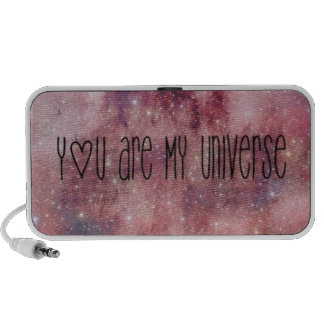 """stereophony """"you are my universe """" mini speakers"""
