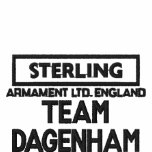 Sterling 1, TEAM DAGENHAM Embroidered Polo Shirts