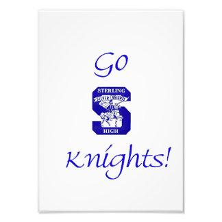Sterling High Go Knights Logo II Photo Print