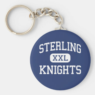 Sterling - Knights - High - Somerdale New Jersey Key Ring