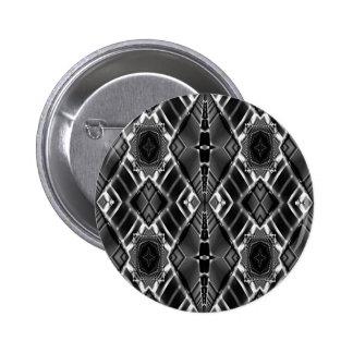 Sterling Metal Maze Button