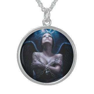Sterling Silver Angel Necklace