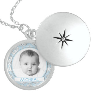 Sterling Silver Customizable Locket Necklace