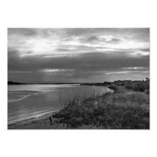 Sterling Silver Landscape, Florida Art Photo