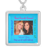 Sterling Silver necklac Best Friends Forever!,