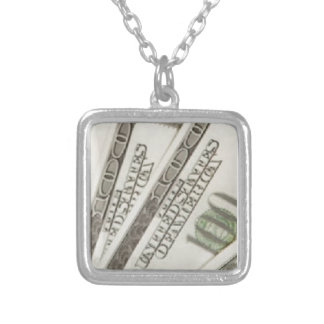 sterling silver plated necklace