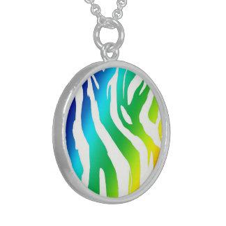 Sterling Silver Round Neckace Round Pendant Necklace