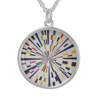 Sterling Silver Round Necklace - Seizure