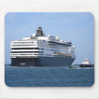 Stern and Starboard Cruising Away Mouse Pad
