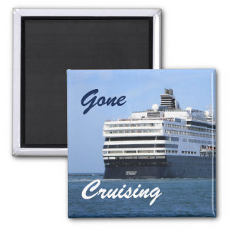 Stern and Starboard Gone Cruising Magnet