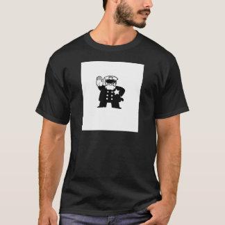 stern cartoon cop T-Shirt