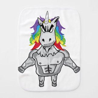 Steroid Unicorn Burp Cloth