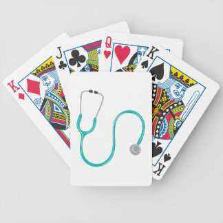 Stethescope Bicycle Playing Cards
