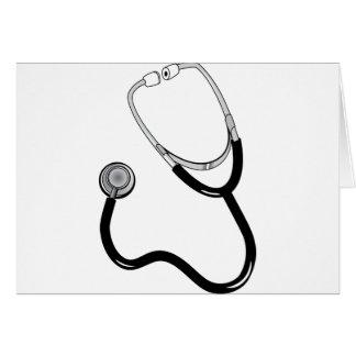 Stethoscope Card