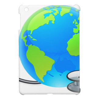 Stethoscope Earth World Globe Health Concept Cover For The iPad Mini