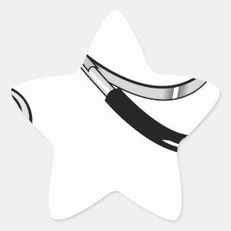 Stethoscope Star Sticker