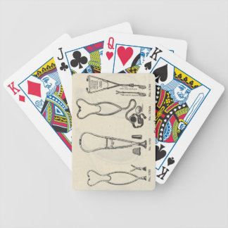 Stethoscopes Bicycle Playing Cards