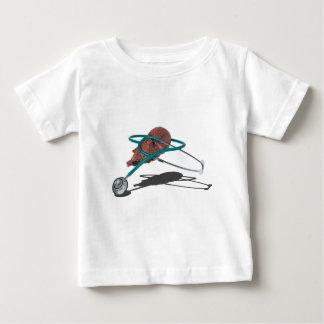 StethoscopeWrappedAroundMedicalHeart092715 Baby T-Shirt
