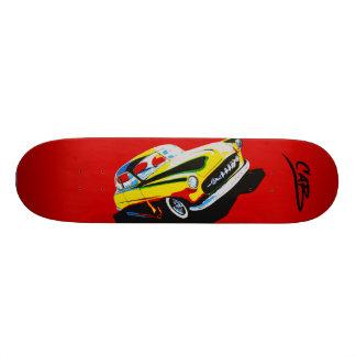 """Steve Caballero  """"Cabart 4"""" Skate Deck"""