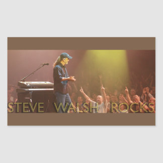 Steve Walsh Rocks Stickers
