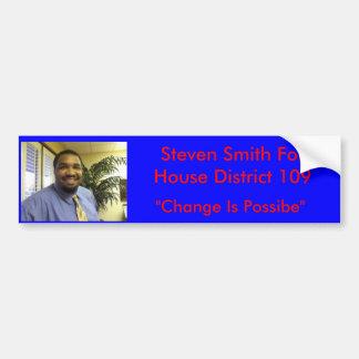 Steven Smith for House Bumper Sticker
