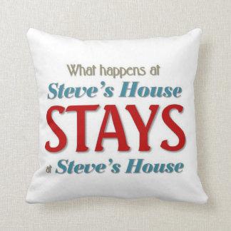 Steve's House Cushion