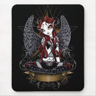 Stevie Super Star Angel by Myka Jelina Mouse Pad