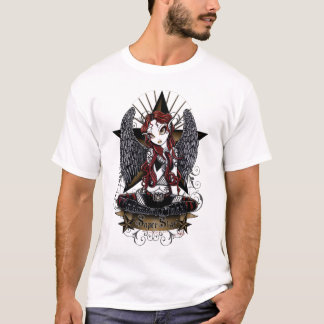 Stevie Super Star Angel Myka Jelina Art T-Shirt