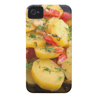 Stew of potatoes with onion, bell pepper and dill Case-Mate iPhone 4 case