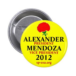 Stewart Alexander 2012 6 Cm Round Badge
