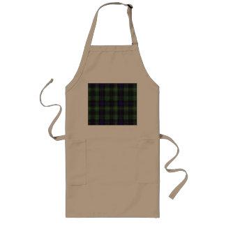Stewart clan Hunting Plaid Scottish tartan Long Apron