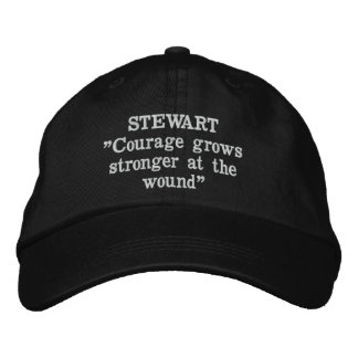 Stewart Clan Motto Embroidered Hat