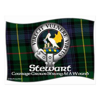Stewart Clan Postcard