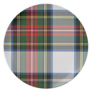 Stewart Dress Plaid Plate