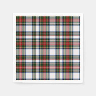 Stewart Dress Tartan Plaid Paper Napkins Disposable Napkin
