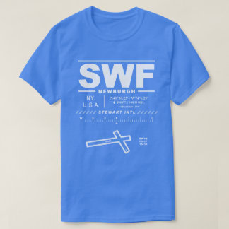 Stewart International Airport SWF Tee Shirt